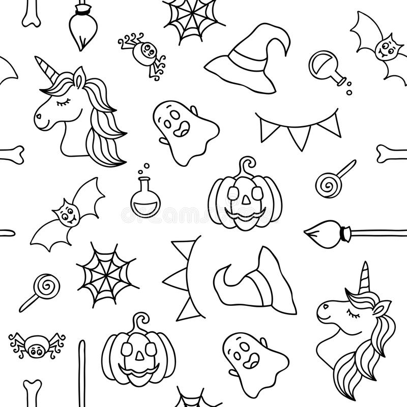 Halloween Things Stock Illustrations