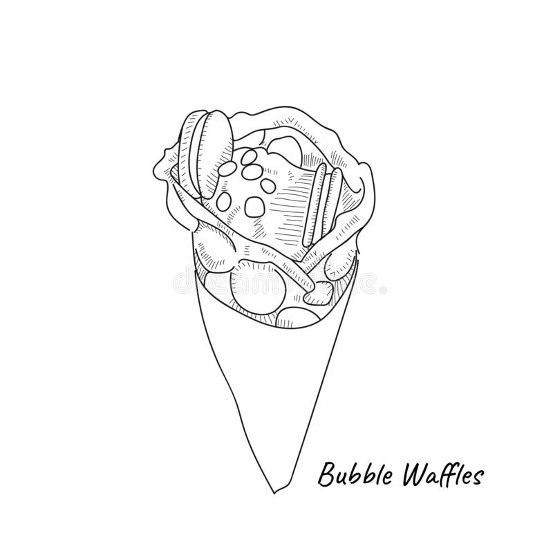 Waffles Stock Illustrations