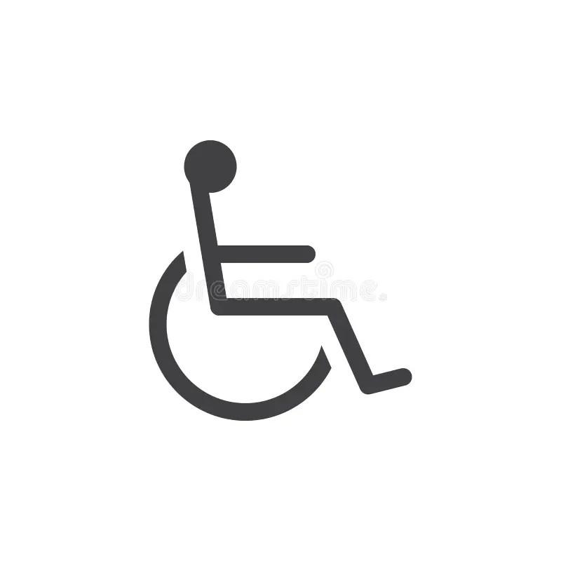 Handicap symbol stock illustration. Illustration of