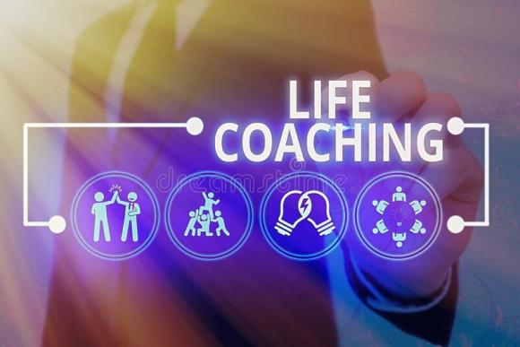 Handwriting Text Life Coaching. Concept Meaning Improve ...