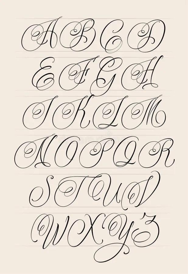 Gangster Handwriting : gangster, handwriting, Gangster, Cursive, Tattoo, Letters, Design