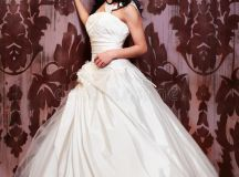 Beautiful Bride In White Wedding Dress Stock Photos ...