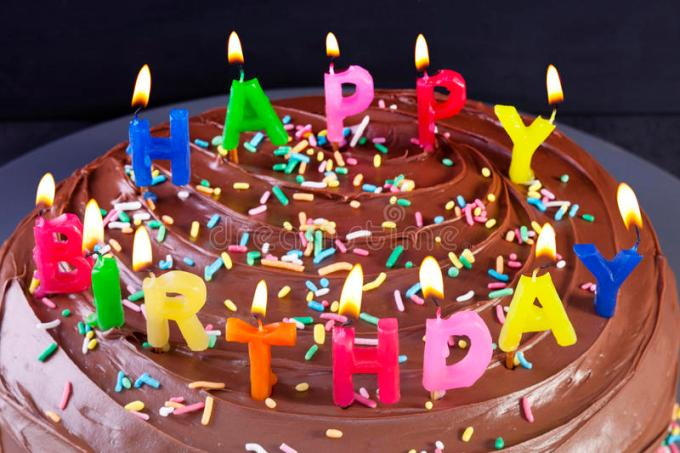 Images Of Happy Birthday Cakes With Candles Siewalls
