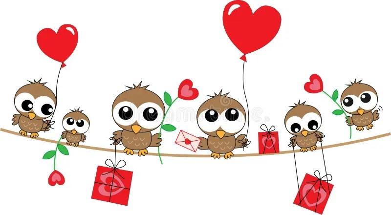 Happy Birthday Love Header Stock Vector Illustration Of