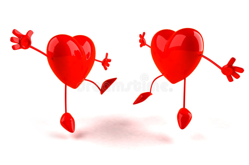 Happy Hearts Stock Illustration Image Of Stress Blood