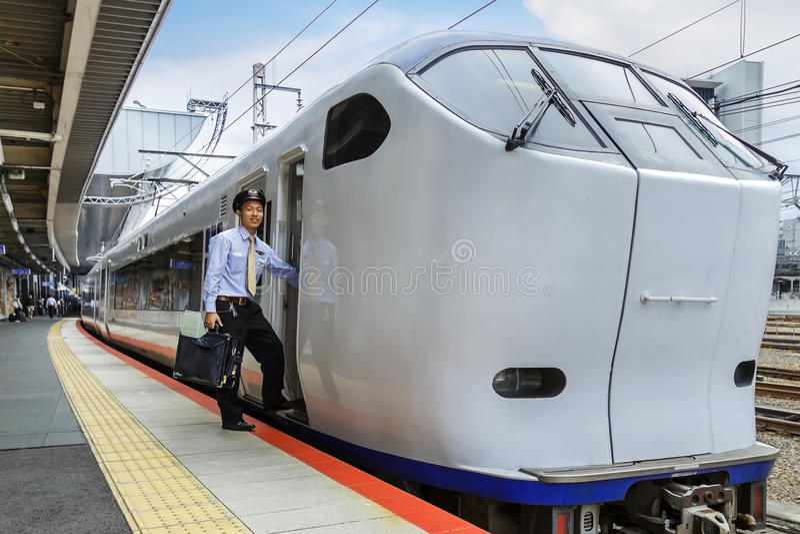 Haruka Airport Express Train Editorial Stock Image - Image of kyoto. kansai: 46612064