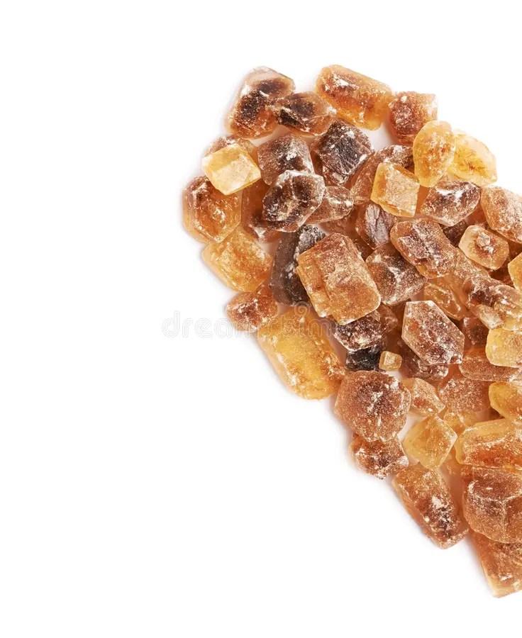 Heart Shape Made Of Rock Sugar Stock Image - Image of ...