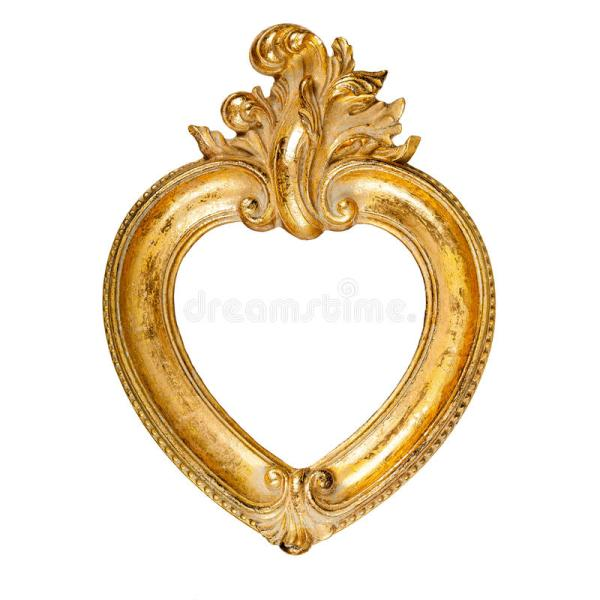 Heart Shaped Frame Stock Of Fashioned