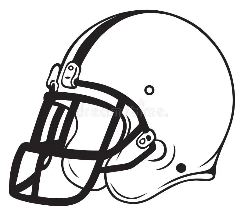Helmet football stock vector. Illustration of gridiron