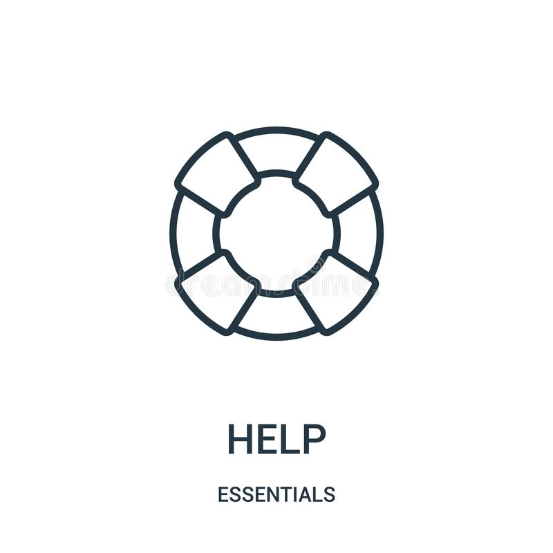 Helping Hands Icons. Protection And Insurance. Stock