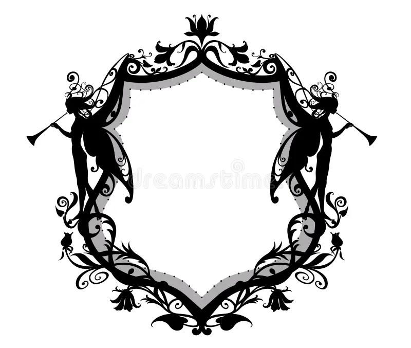 Heraldic shield stock vector. Illustration of cartouche