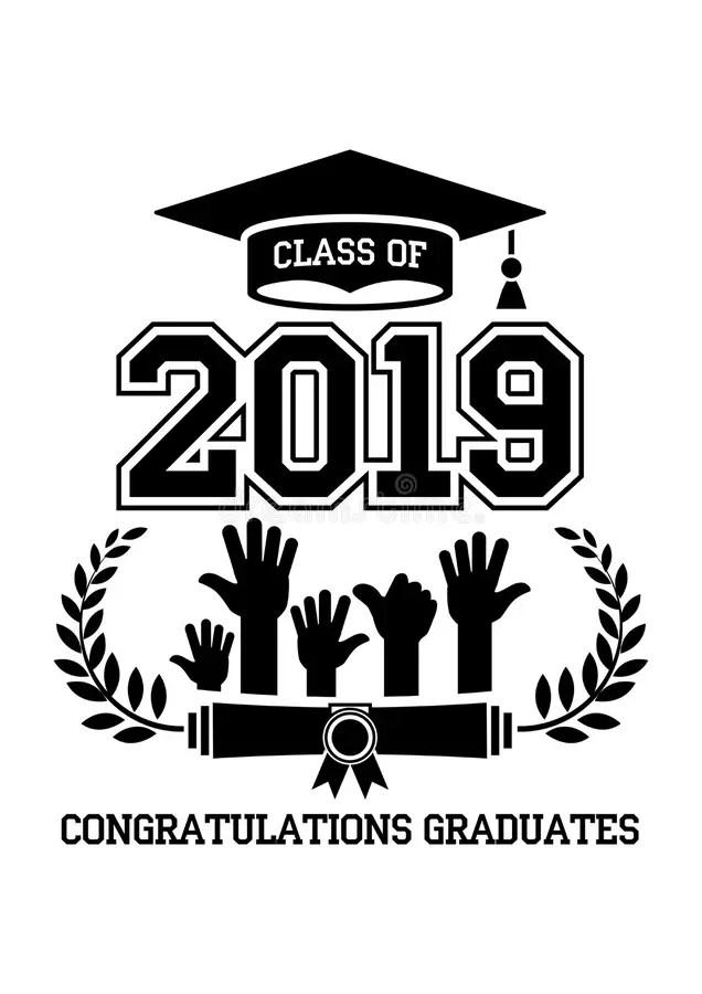 Mortarboard Graduation Cap & Diploma Certificate Stock
