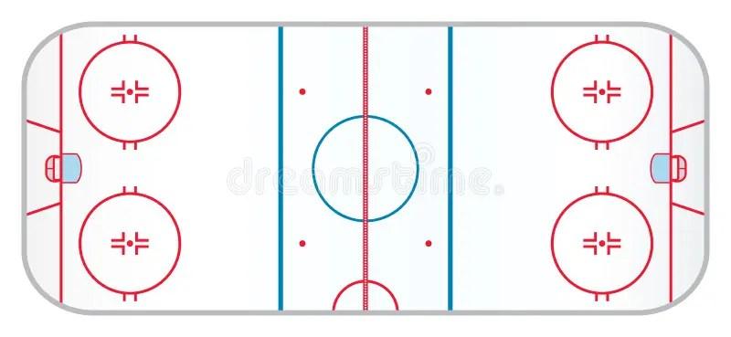 Nhl Hockey Rink Diagram Printable