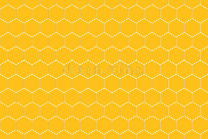 honeycomb grid tile seamless background