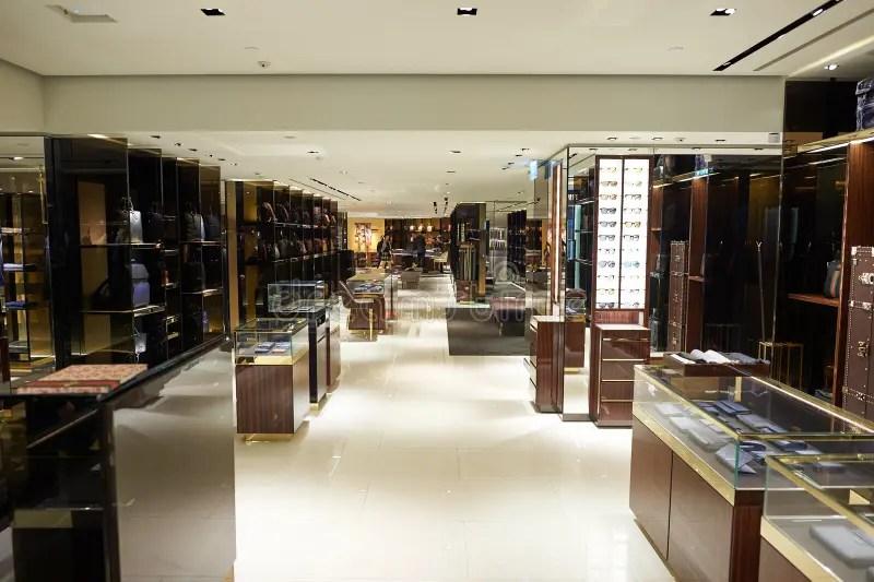 Shopping mall in Hong Kong editorial photography. Image of gucci - 101515952
