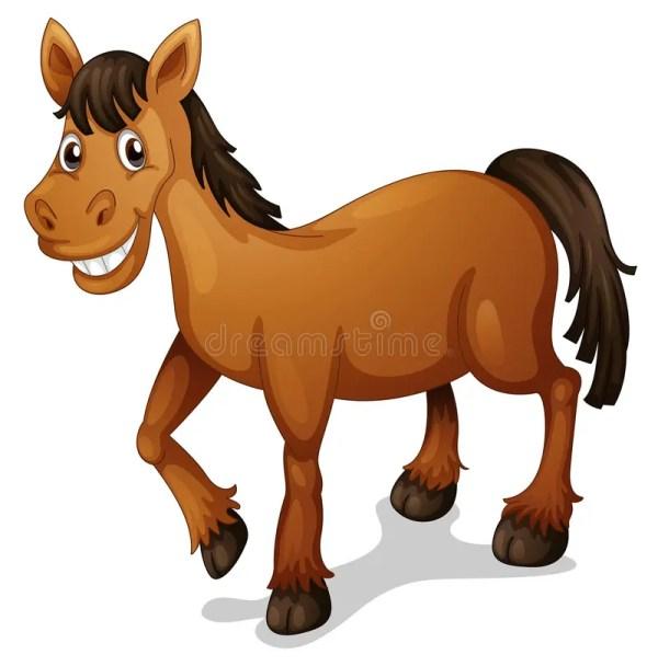 Cartoon Horse Illustration