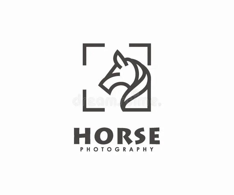 Wild horses head stock vector. Illustration of graphic