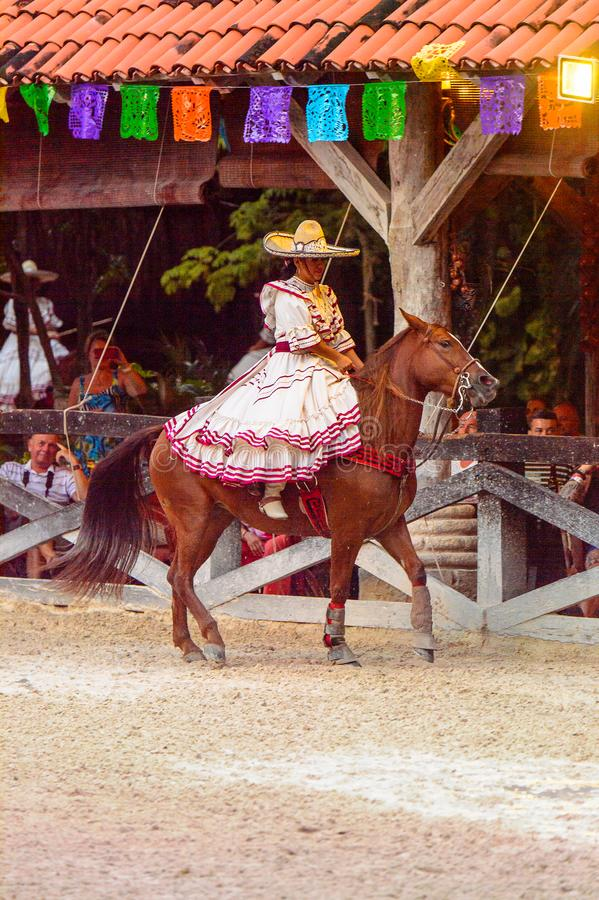 Horse show in Mexico editorial photography. Image of jump - 105811912