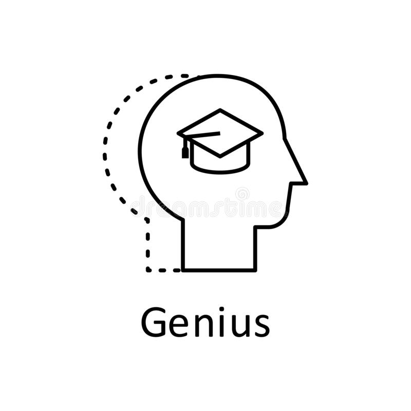 Education And Training Human Cap Book Stock Illustration