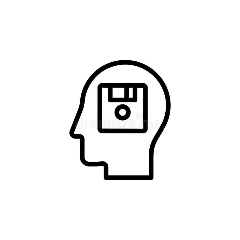 Memory process stock illustration. Illustration of process