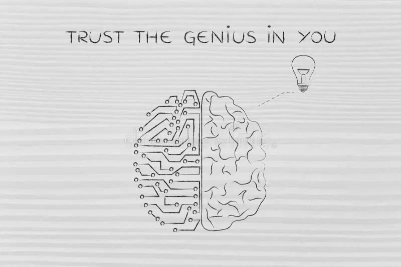Genius Stock Illustrations