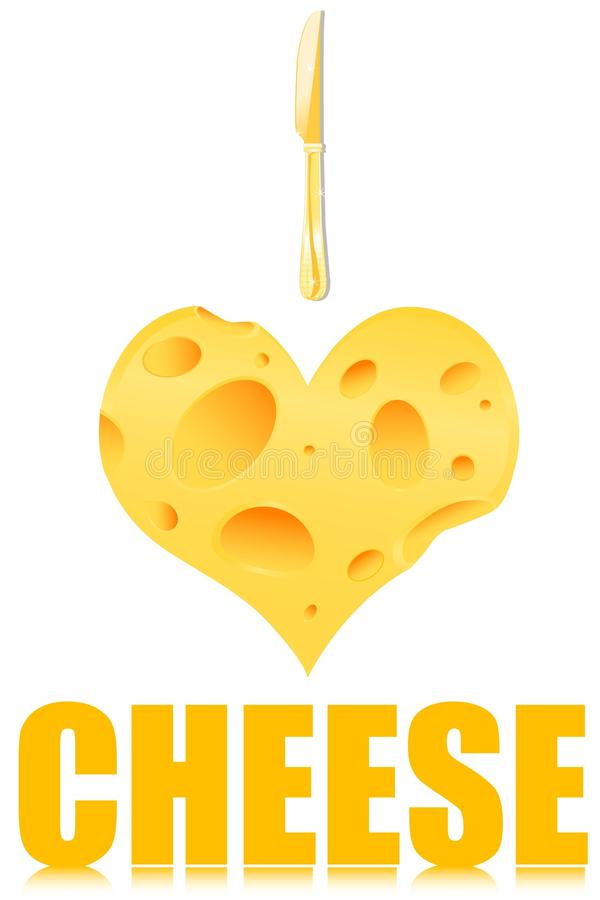 Download Love and cheese stock illustration. Illustration of love ...