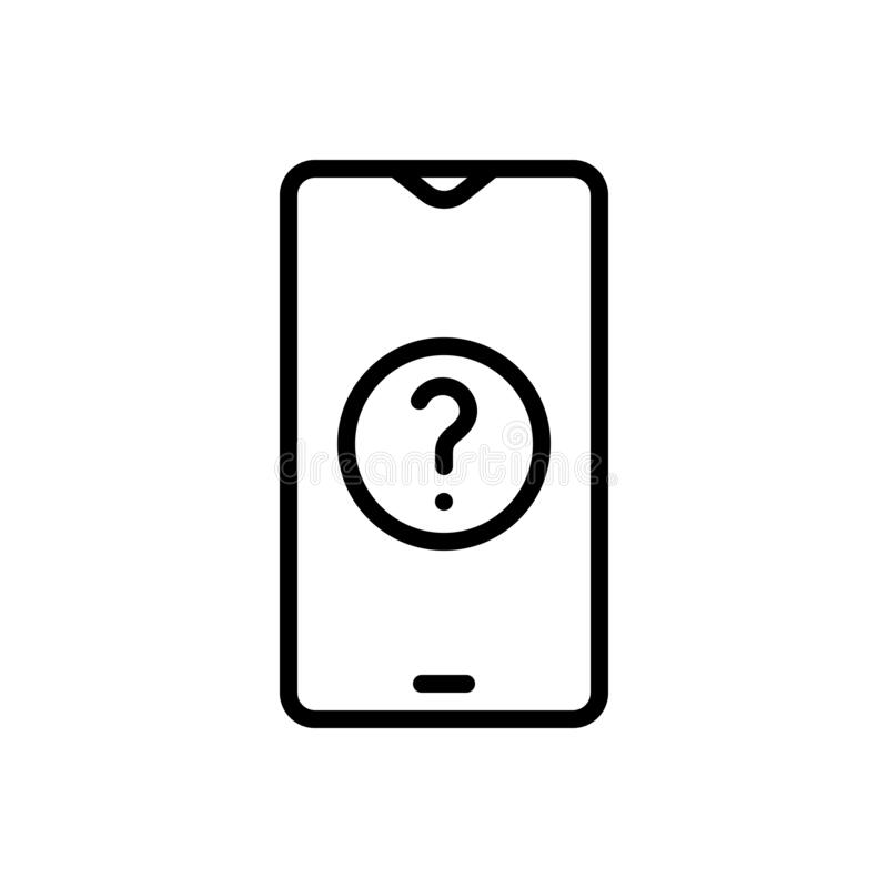 Ask why in question mark stock illustration. Illustration
