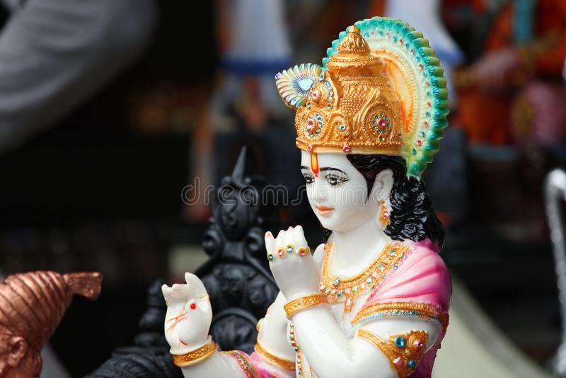 lord krishna stock images