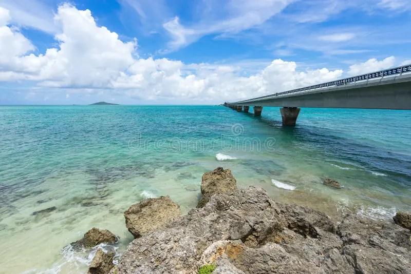 Ikema Bridge stock photo. Image of island. bridge. construction - 78363508