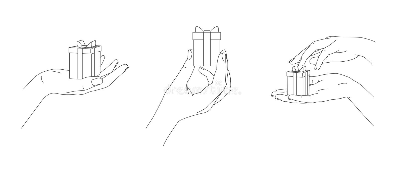 Hand Positions Stock Illustrations