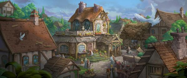 Fantasy Town Stock Illustrations 6 610 Fantasy Town Stock Illustrations Vectors & Clipart Dreamstime
