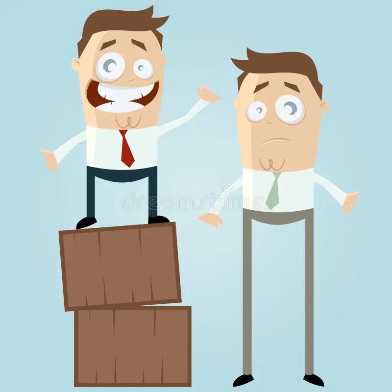 Two cartoon men stock vector. Illustration of businessman - 29940755