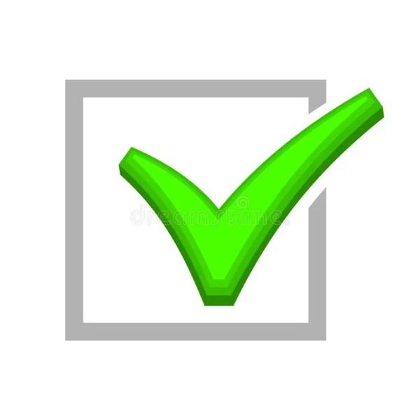 Green Check Mark Box