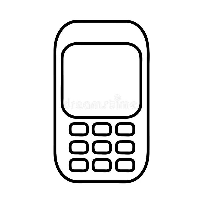 Image D'icône De Pictogramme De Téléphone Portable