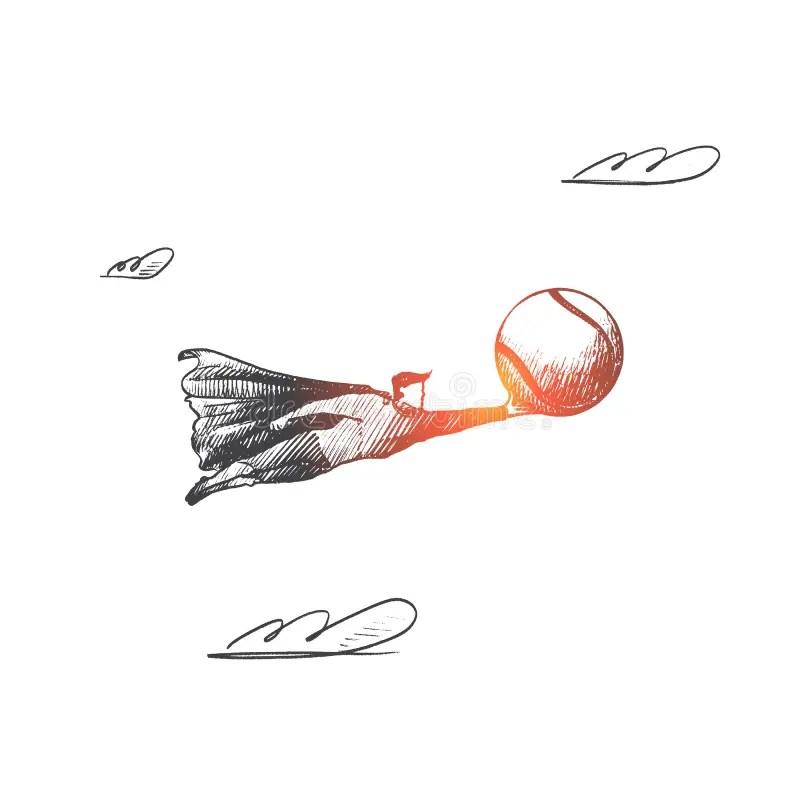 Símbolos Do Super-herói Ou Do Atletismo Ilustração do