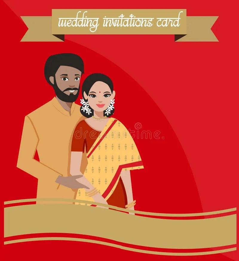 indian wedding couple stock