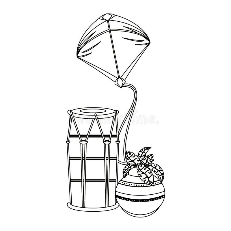 Vector Tabla Drums stock vector. Illustration of music