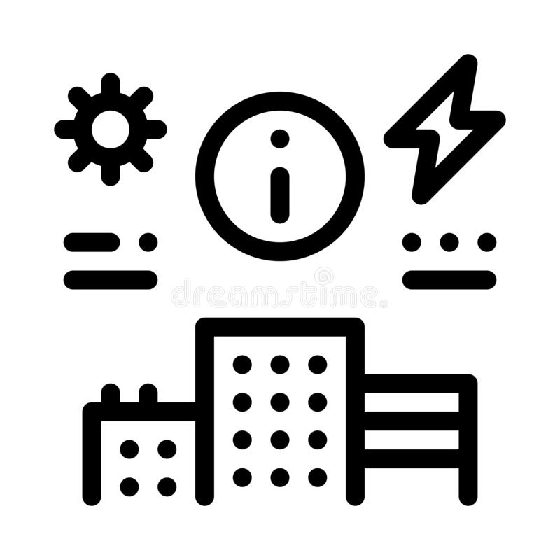 Electricity Plan Stock Illustrations
