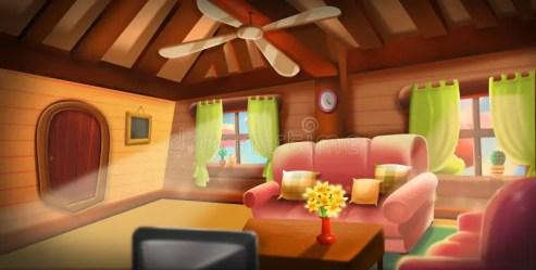 inside background cartoon cabin tree warm illustration game clipart artwork realistic digital cg concept adobe fairy vectors illustrations latest
