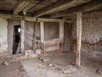 Interior Of An Old Barn Stock Photo - Image: 72246692