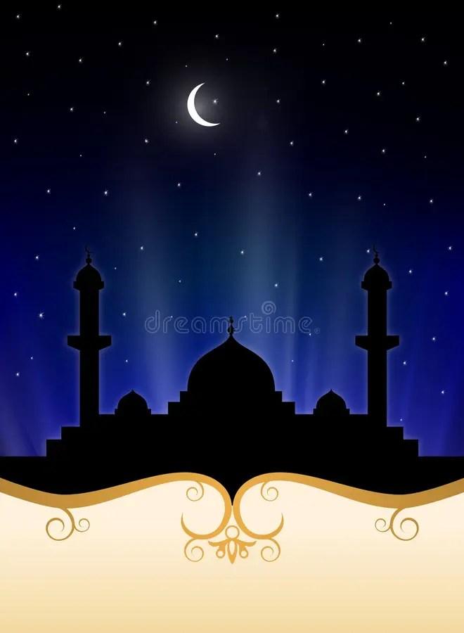 Background Pamflet Ramadhan : background, pamflet, ramadhan, Islamic, Ramadan, Background, Stock, Illustration., Illustration, 25454392