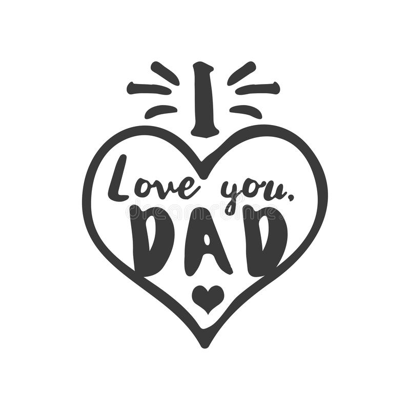 Download Isolated Happy Fathers Day Quotes On The White Background ...