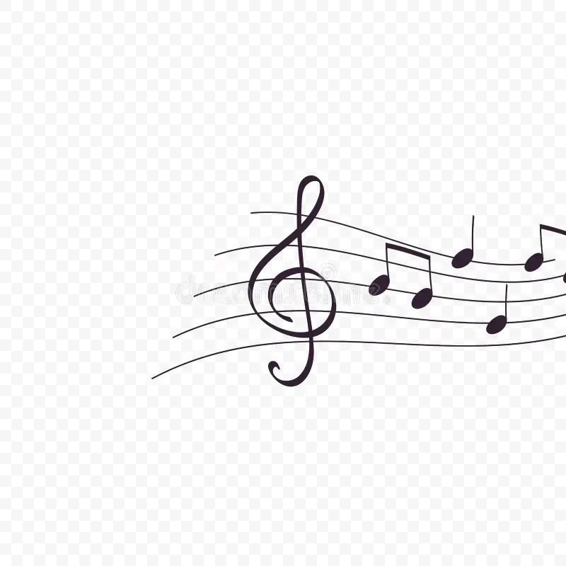 Musical Flow stock illustration. Illustration of note