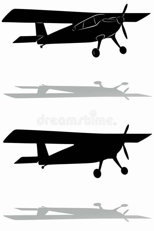 Small Airplane Drawing : small, airplane, drawing, Silhouette, Small, Airplane, Stock, Illustrations, Illustrations,, Vectors, Clipart, Dreamstime