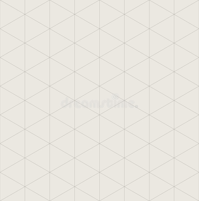 Isometric Grid Paper A3 Landscape Vector Stock Vector