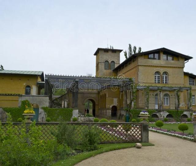 Italian Style Villa Built By Prince Frederick William With Garden And Pergola Entrance