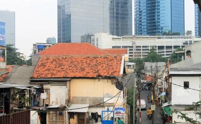 Jakarta Indonesia December 31 The Sad Reality Houses