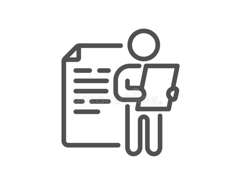 File Document Help Icon. Question Mark Symbol. Stock