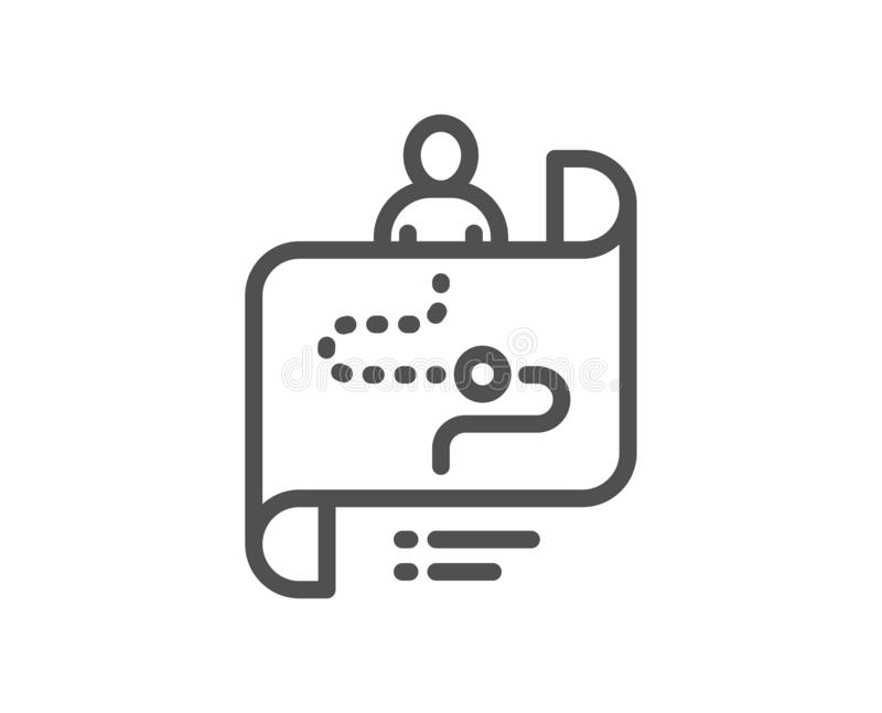 Process Map Stock Illustrations