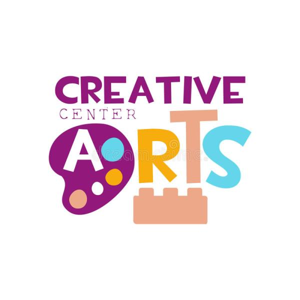 Kids Creative Class Template Promotional Logo With